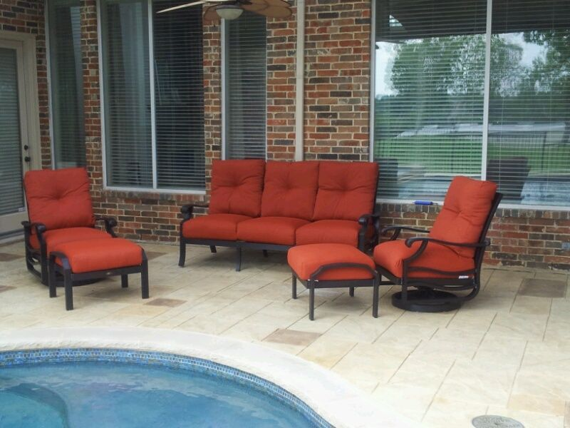 Anthem Seating Collection By Mallin Outdoor Patio Furniture With