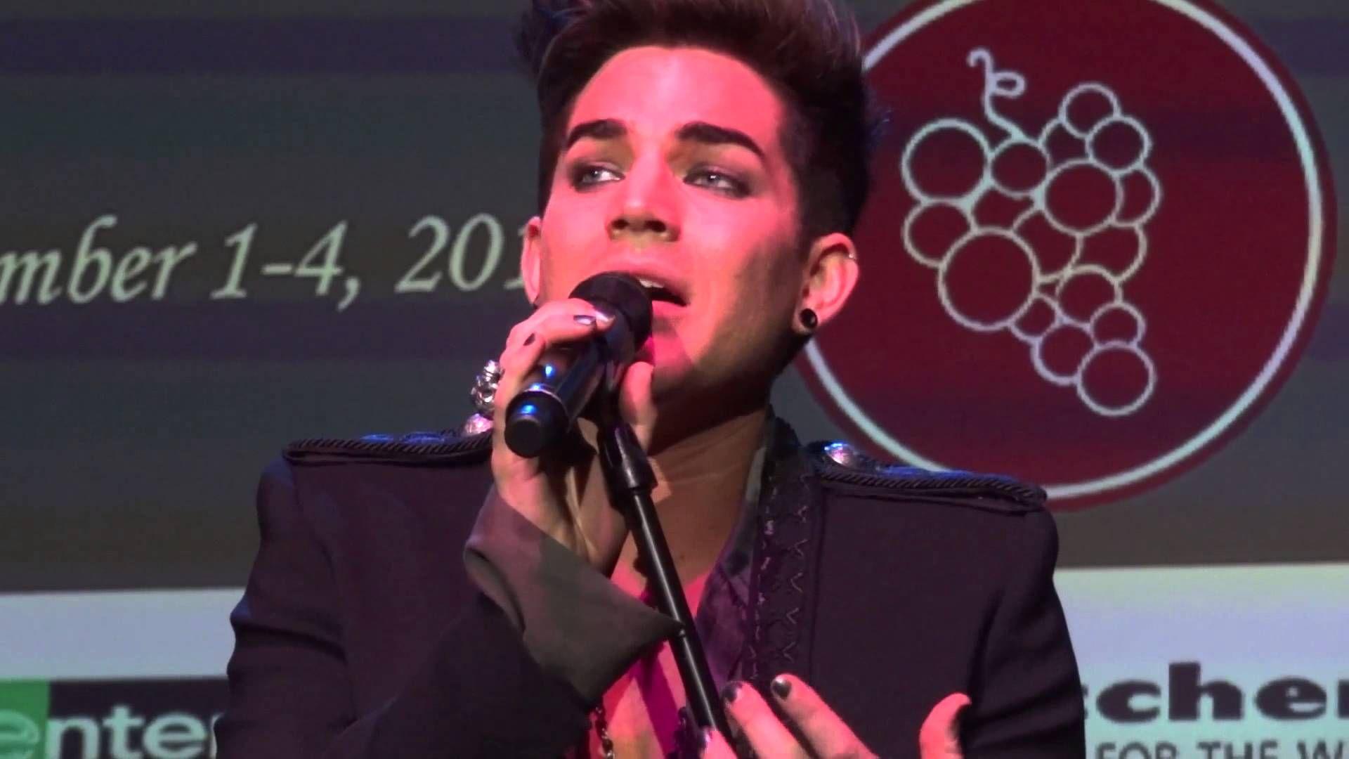 Adam Lambert Whataya Want From Me Live In The Vineyard 11 3