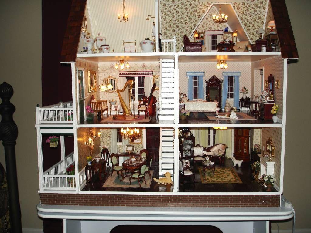 112 Jpg Furnished Victoria S Farmhouse Gallery Dollhouse Ideas