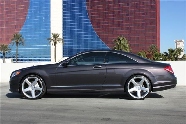 2008 Mercedes Benz Cl550 Amg Sport Sitting On 22 Wheels With