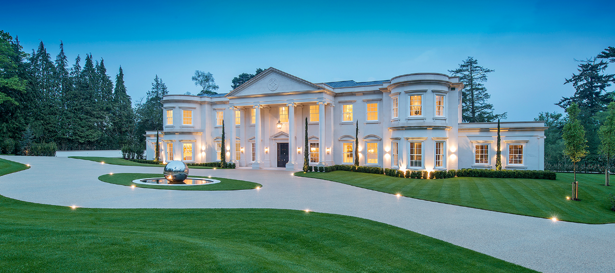 Dawn Hill U2013 A 26,000 Square Foot Newly Built Limestone Mega Mansion In  Surrey, England