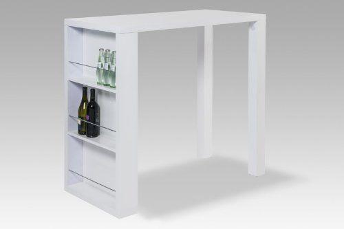 Bartisch u0027Friederikeu0027, Gestell Metall weiß, NEU OVP Küche - bartische für küche