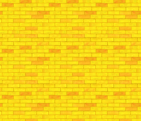Colorful Fabrics Digitally Printed By Spoonflower Wizard Of Oz Yellow Brick Road By Joyfulrose Each Brick Is About 1 7 Wide X 6 Tall Brick Road Wallpaper Yellow Brick Road