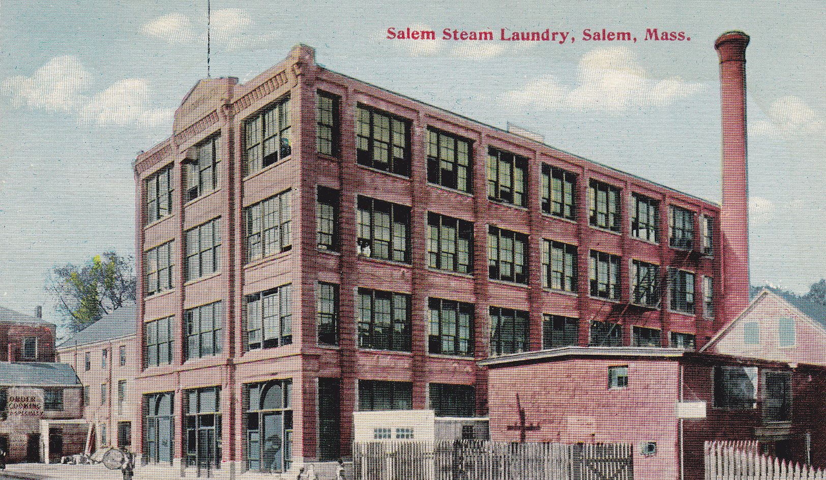 Salem Steam Laundry Mass Building Steam Laundry Steam