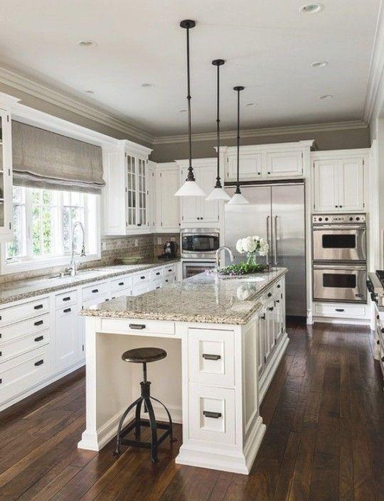 Best 25 Kitchen Designs Ideas On Pinterest Kitchen Layouts Within Kitchen I Traditional Style Kitchen Design White Kitchen Design Traditional Kitchen Design