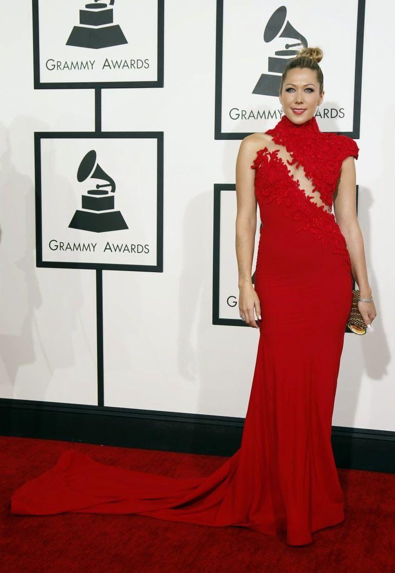 Best of Grammy Fashion // Colbie Caillat in Ezra Santos