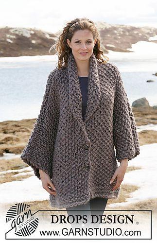 FREE--pattern jacket in moss stitch 24-2_medium   Plus Size clothing ...