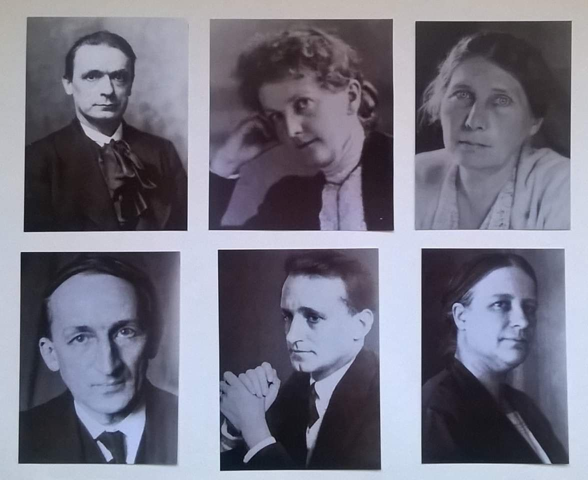 The General Anthroposophical Society - Founding at Christmas 1923 Presided  over by Rudolf Steiner. With Marie Steiner - Ita Wegman - Albert Steffen -  G… | Oculto