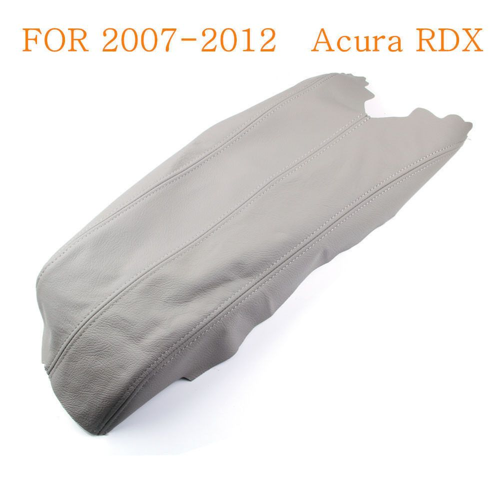 For 07-12 Acura RDX Real Leather Center Console Lid