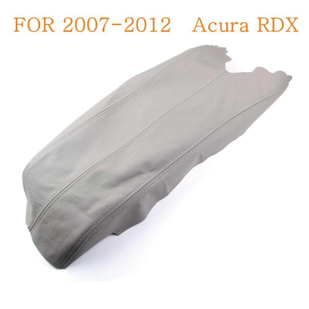 Honda Acura RDX Center Console Leather Armrest Cover Lid - Acura rdx console cover