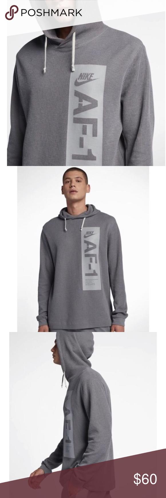 Nike Sportswear Af1 Air Force Men S Hoodie Nike Sportswear Sportswear Hoodies Men [ 1740 x 580 Pixel ]