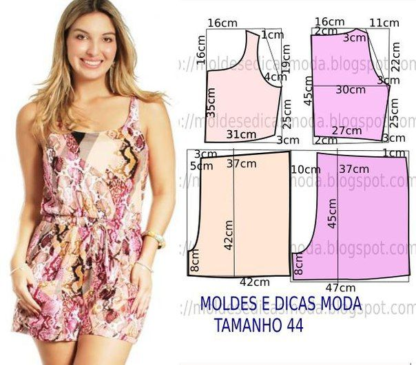 Como hacer un jumper para dama | Patrones | Sewing, Sewing patterns ...