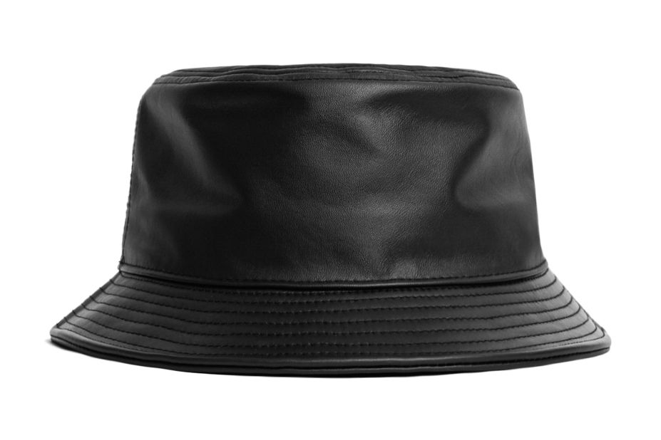 6312d2086aa71a Black Leather Bucket Hat | YOUTH: THE THREAD: SOUTHERN GANGSTA ...