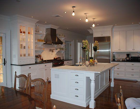 Elmwood Kitchen Cabinetry white paint Deb Toland design | kitchen ...