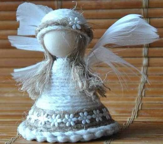 Кукла ангелочек своими руками фото 890