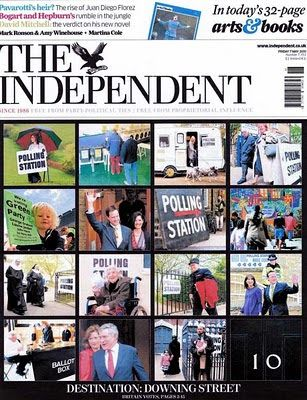 Westcountry PR Photographer: Polling station on front of Independent