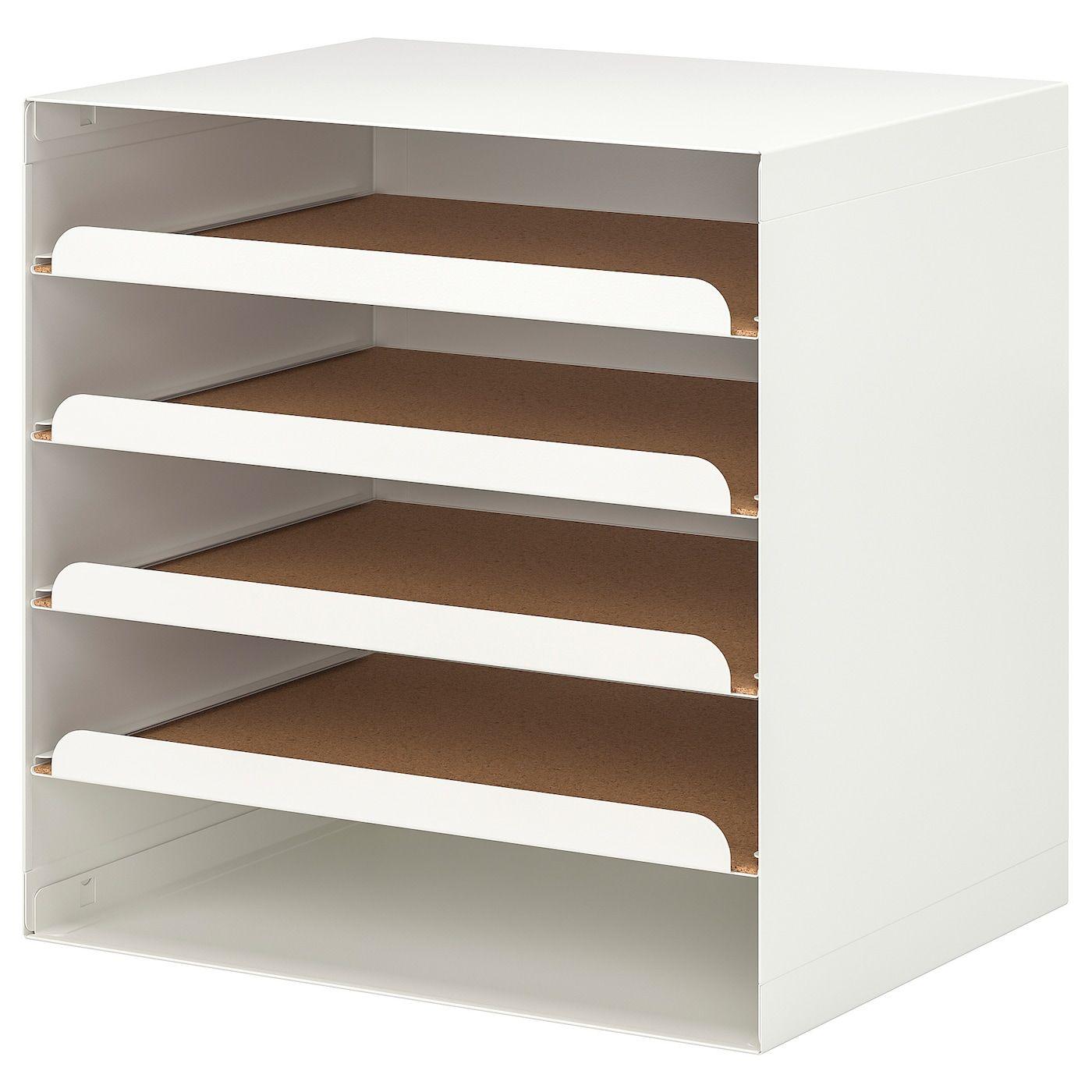 Kvissle Letter Tray White Ikea In 2020 Letter Tray Desk Paper Organizer Ikea