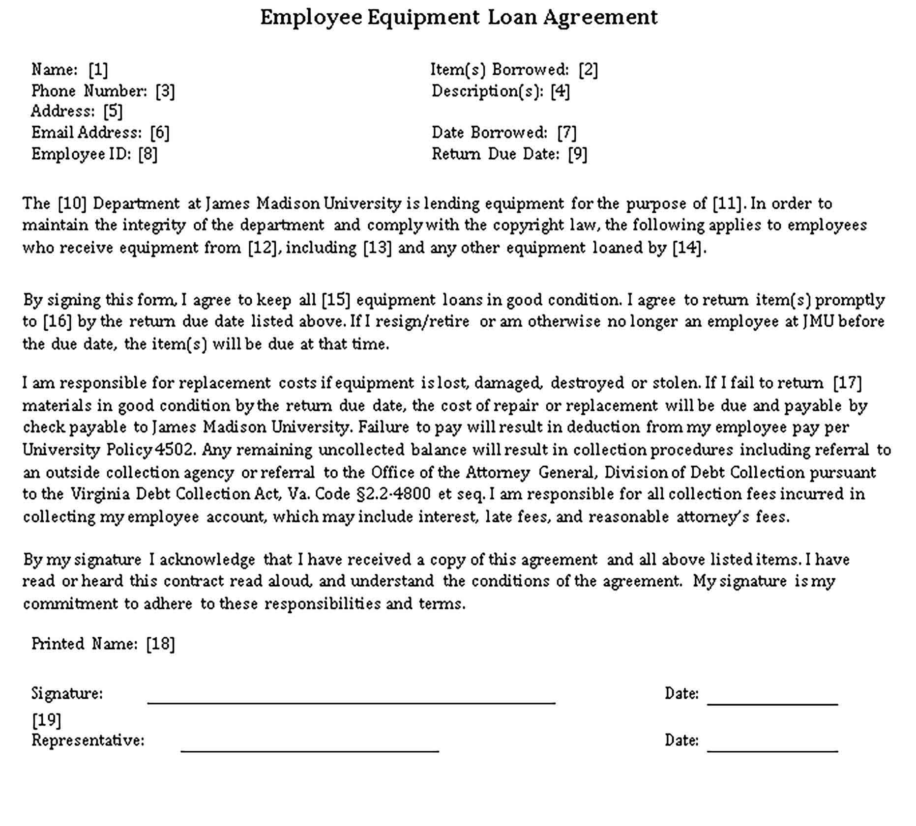 Loan Agreements Templates Sample Loan Agreement Apply For A Loan Loan