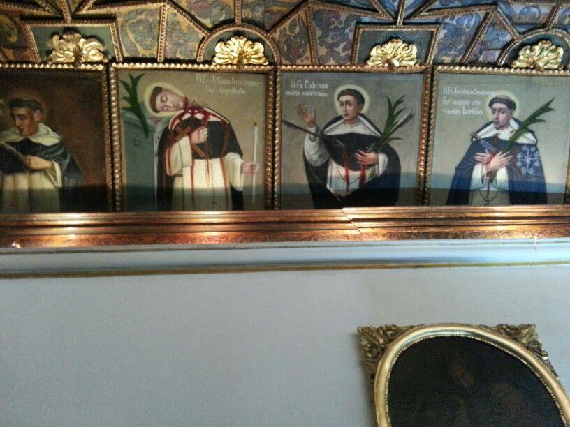 Miembros de congregación asesinados cuadros