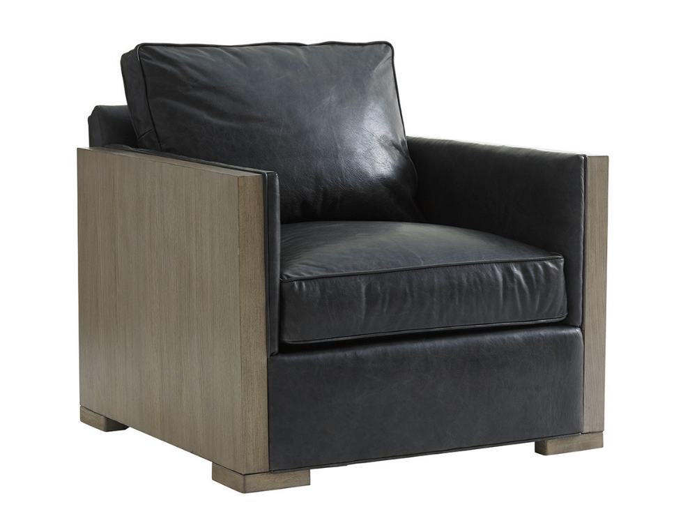 Delshire Leather Chair Lexington Home Brands Leather Chair Modern Accent Chair Armchair