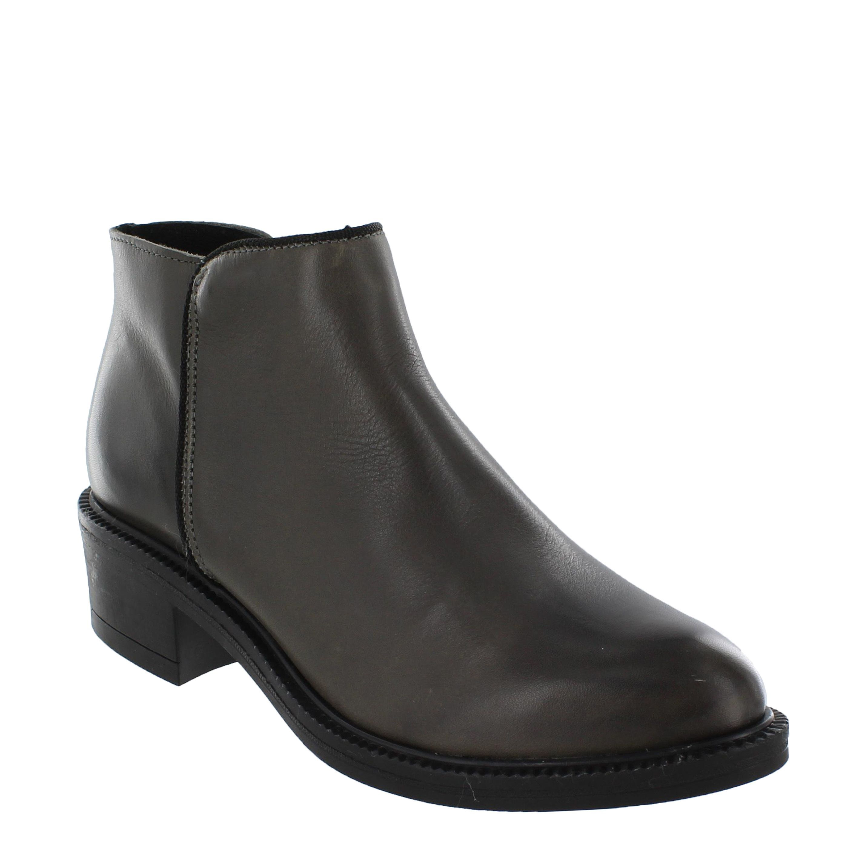 Marta Jonsson Leather ankle boot, Grey. Women's Ankle BootsGrey ...