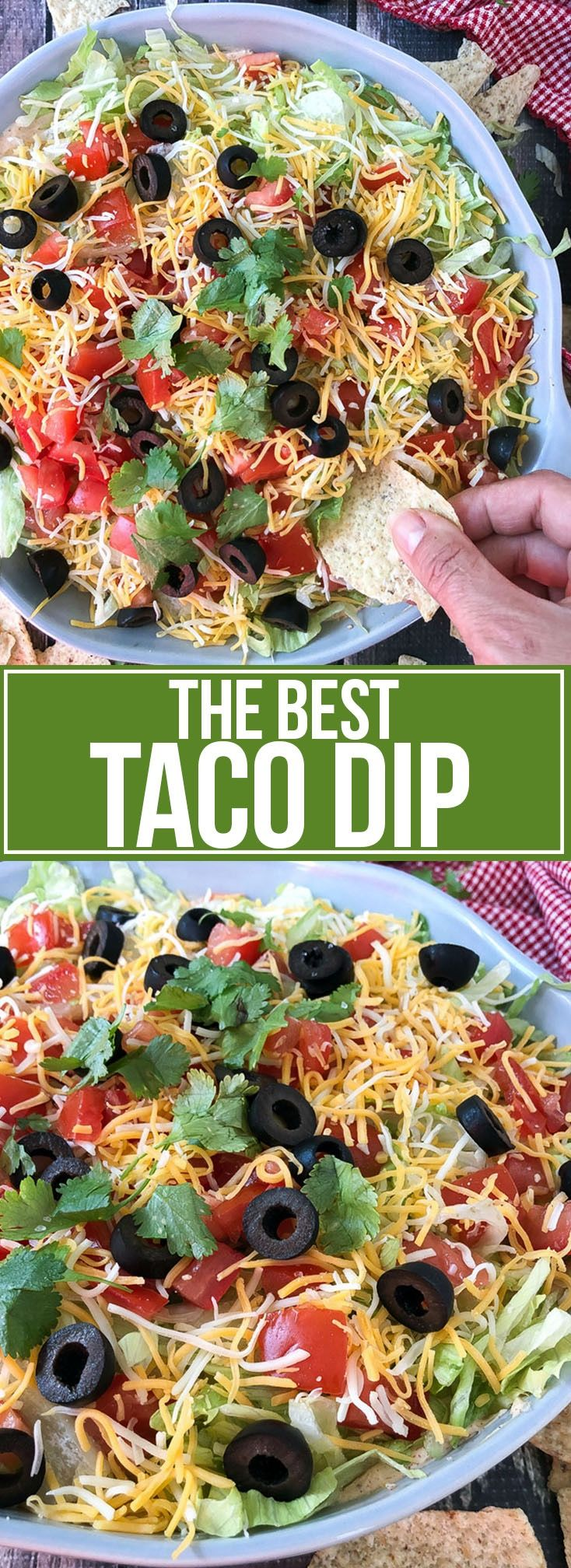 The Best Taco Dip - Mother Thyme
