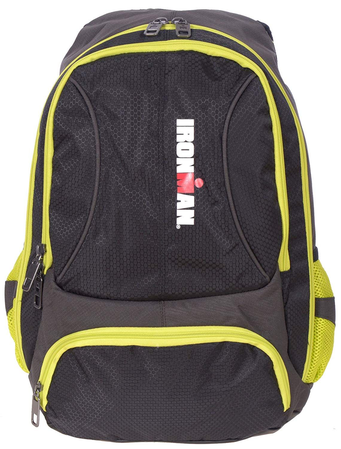 Ironman Deluxe Padded Backpack With Reflective Details