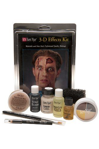 Character Makeup Kits Ben Nye Deluxe 3d Special Effects Kit You Can Find Out More Details At The Link Of T Makeup Kit Character Makeup Best Foundation Makeup
