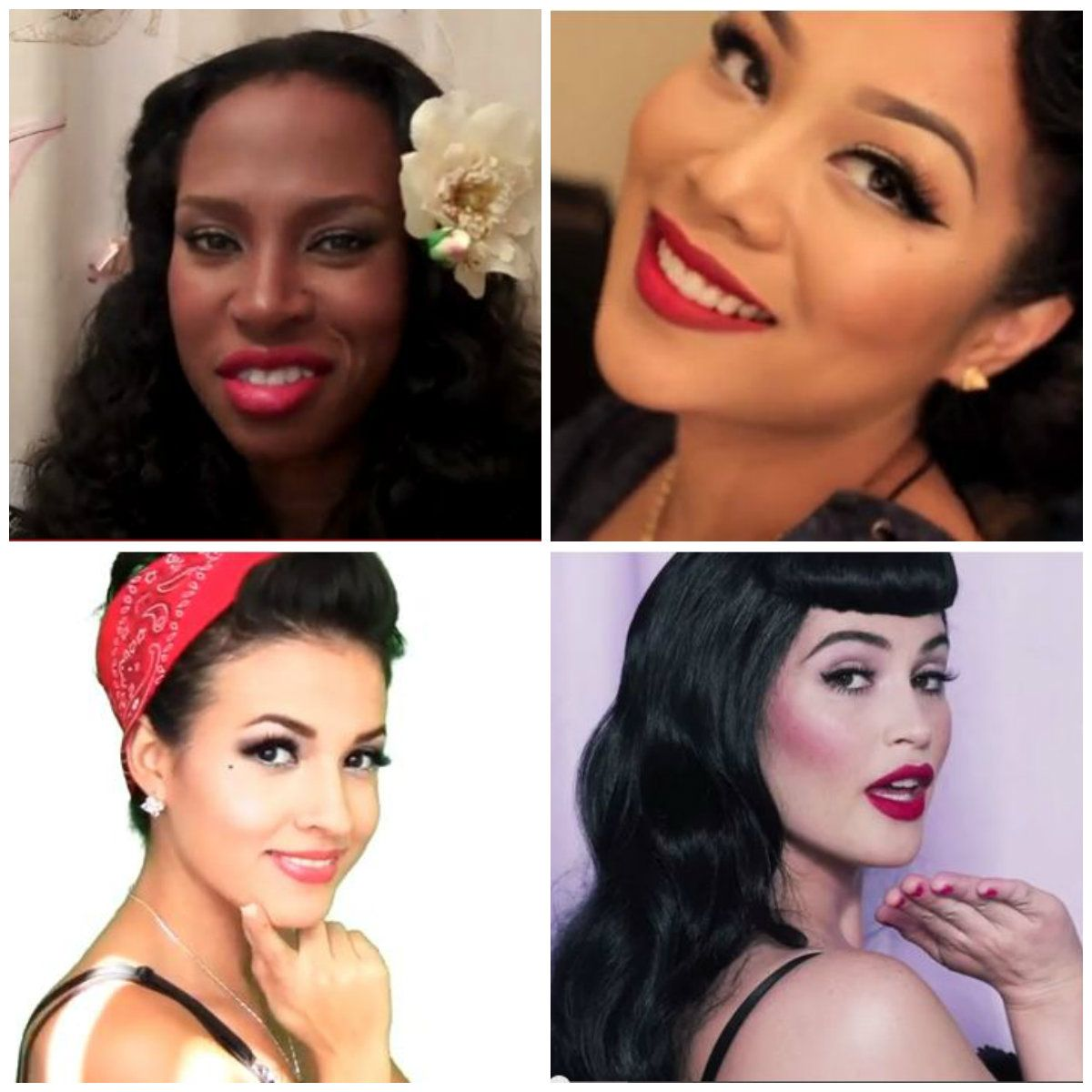 vintage make-up tutorials for all skin tones