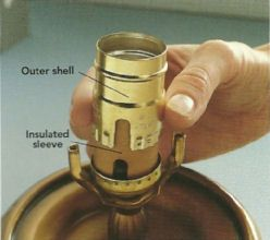 How to fix a lamp socket in six steps. | Lamp socket, Diy ...