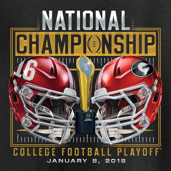 Alabama Crimson Tide vs. Bulldogs Fanatics Branded