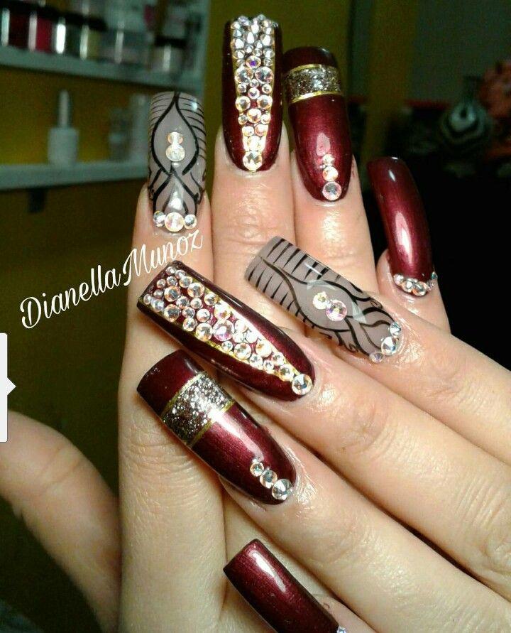 Pin de Cristina Hernandez en Nails | Pinterest | Uñas lindas, Uñas ...