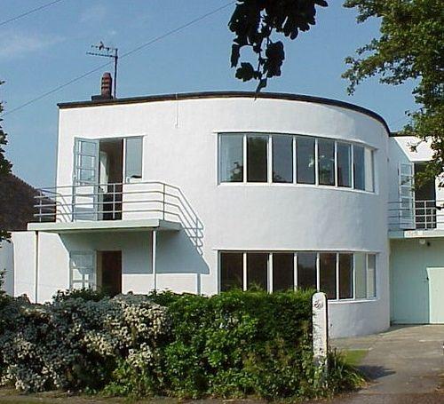 House, FrintononSea in 2020 Architecture, Art deco