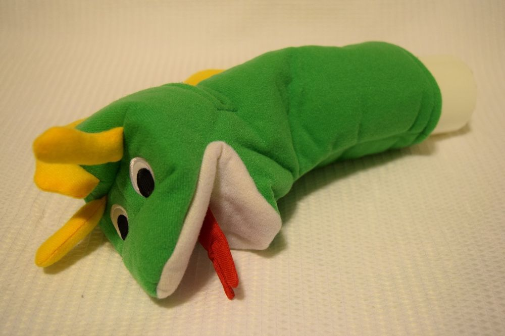 Baby Einstein Discovery Center Graco Exersaucer Green Dragon Puppet Toy Parts #Graco