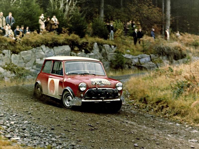 1966 RAC Rally SLampinen TAmbrose