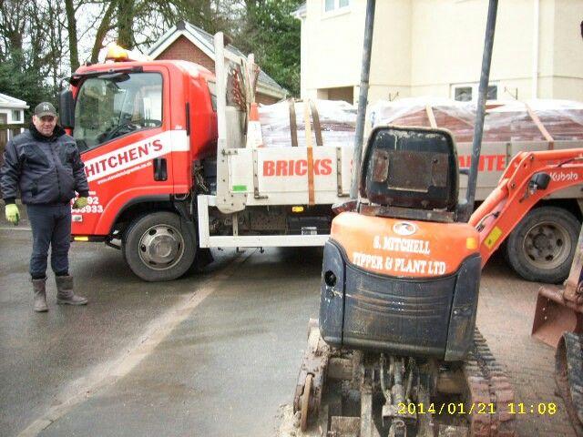Bricks delivery