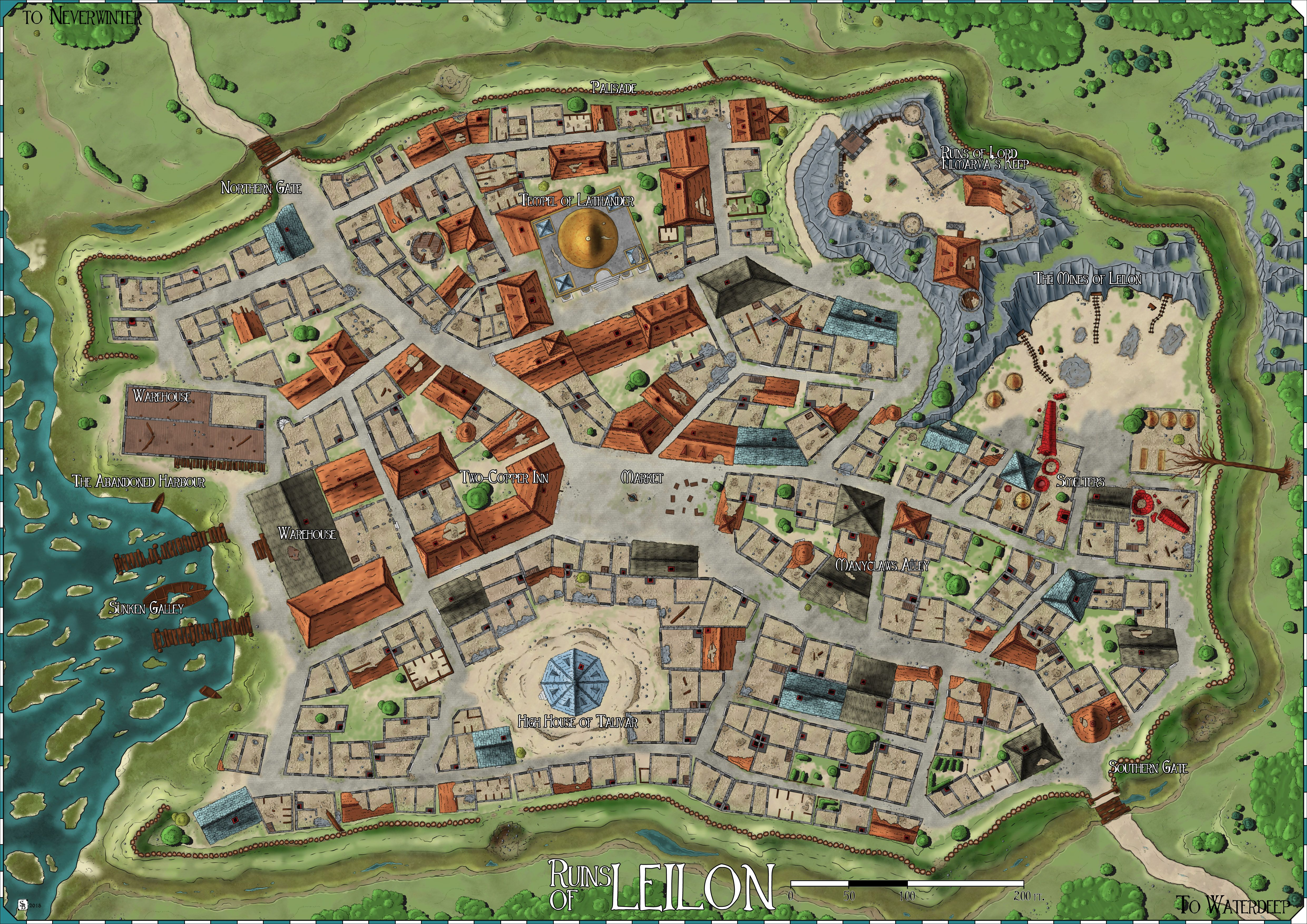 Forgotten Realms The Ruins Of Leilon By Stratomunchkin