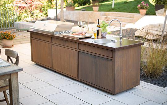 Outdoorküche Möbel Jobs : Cucina giardino unsere outdoorküche aus metall gartenmetall