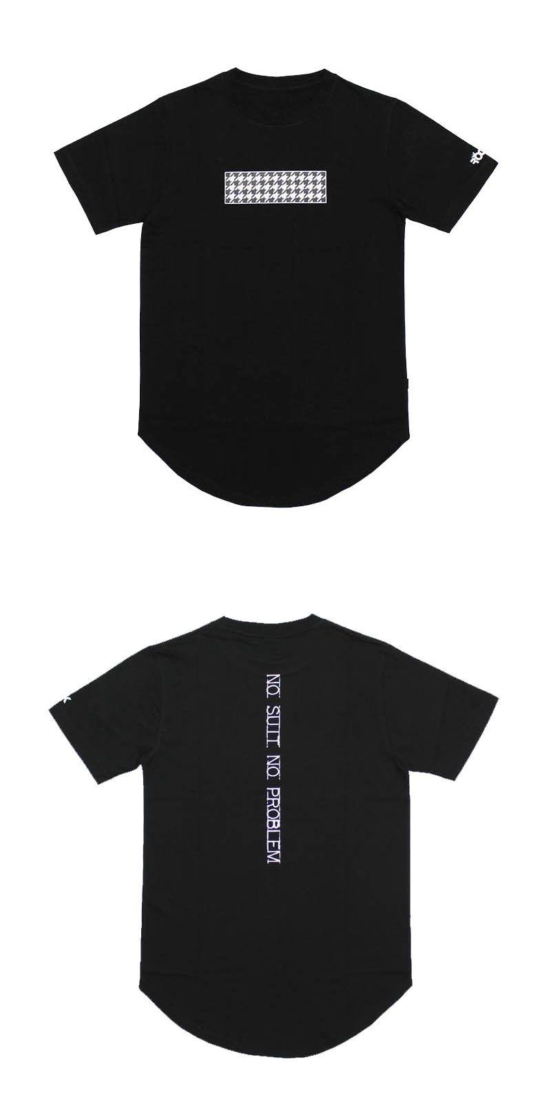 2016 extend hip hop street T-shirt wholesale fashion brand black t ...