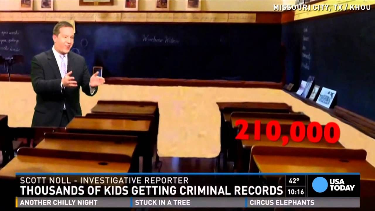 Students get criminal records for unexcused absences