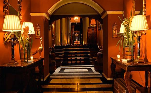 Prestonfield House Hotel Edinburgh Review Telegraph