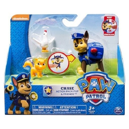 Nickelodeon Paw Patrol Chase Friends Exclusive Figures Set Bnib Chase Kitty Paw Patrol Figures Paw Patrol Nickelodeon Paw Patrol Toys