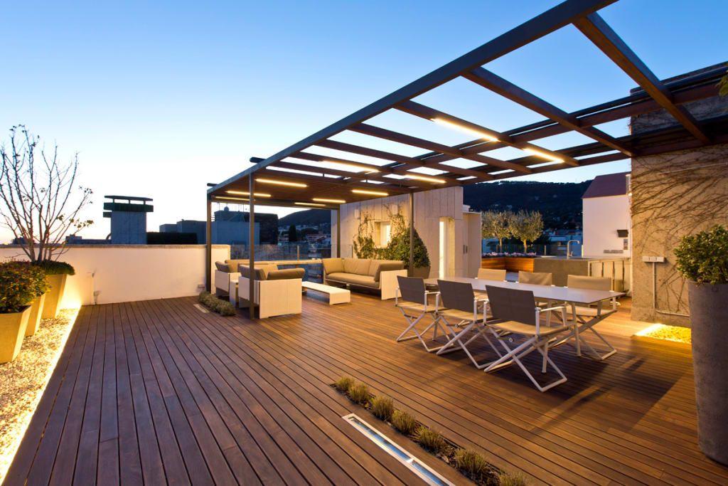 Terraza En Barcelona Balcones Y Terrazas De Estilo Moderno