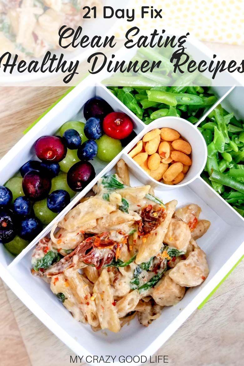 21 Day Fix Dinner Recipes Instant Pot Dinner Recipes Good Healthy Recipes Tuscan Chicken Pasta
