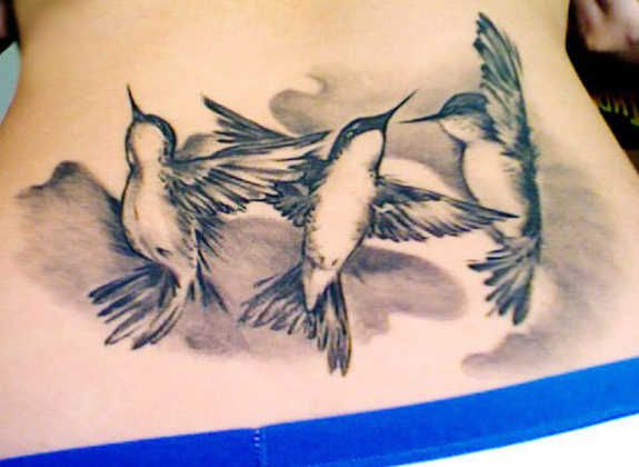 Birds Lower Back Tattoo Venice Tattoo Art Designs Back Tattoo Women Little Bird Tattoos Back Tattoo
