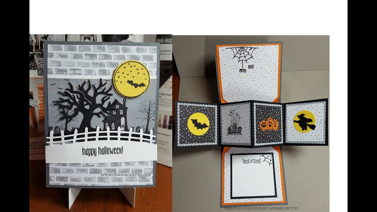 Stampin' Up! Spooky Fun Twist and Pop Up Panel Fun
