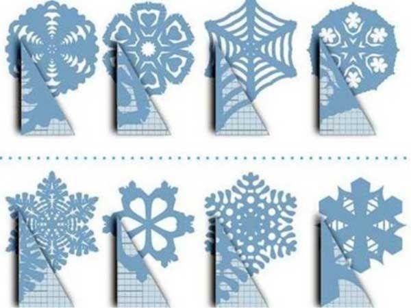 Бумажные звезды схемы
