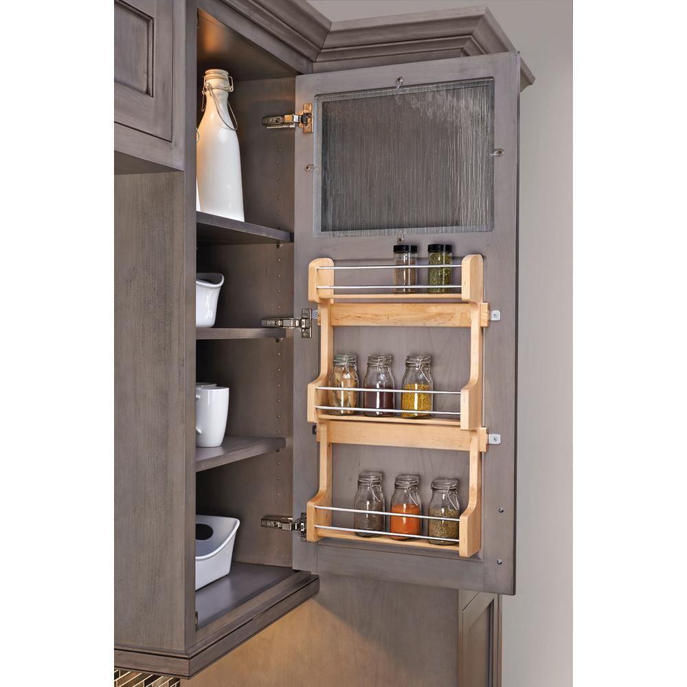 21.5 in. H x 13.5 in. W x 3.12 in. D Medium Cabinet Door Mount Wood