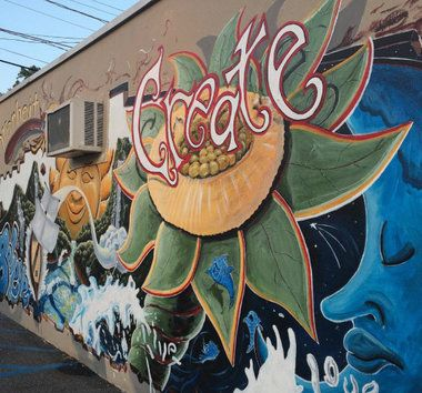 What does someone do with a big, blank wall seen by everyone who turns onto Broadway from Holly Avenue, (adjacent to a Borough of Pitman public parking lot)? If you are Patti Forte, owner of Fahrenheit Ceramic Studio, you hand...