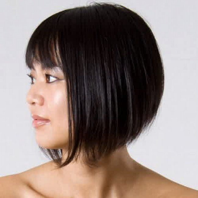 Short Angled Bob Hairstyles Back View Short Angled Haircuts